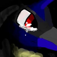 Lucario-Accepting Fate by CrystaltheEchidna