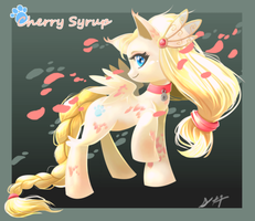 PONY -CHERRY SYRUP- auction (CLOSED) by elquijote