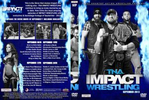 TNA Impact Wrestling September 2013 DVD Cover by Chirantha