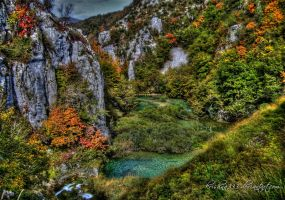 Plitvice Lakes 2 by Krishna333