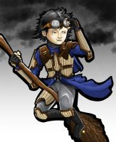 Cho Chang Ravenclaw Seeker by MakingPicsSlowly