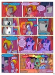 MLP FIM STARS Chapter-4 Stickers Page-42 by MultiTAZker