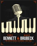 POSTER Bennett and Brubeck (june, 8, 13) copy by B-boyAlfelor