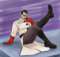 TF2 - Medic by sleepyoldvamp