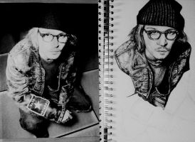 Johnny Depp - Unfinished 2 by ScenicSarah