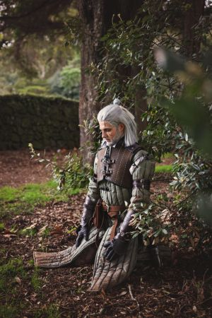 Geralt Meditating by Noonapop-MrX-Cosplay