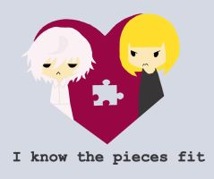 I know the pieces fit by Misandrie