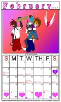 February Calender 2009 by MidNight-Vixen