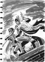 Dynamic Duo_BW by ickhwano