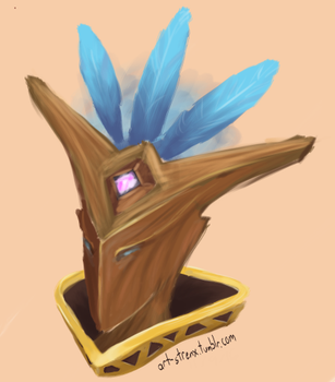 Mal'Damba headshot by strenx