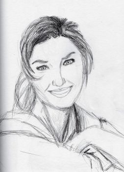 Shania Twain2 (other version of the second sketch) by Felipe400