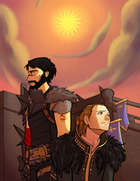 Kirkwall is Burning by playerprophet