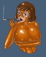 25 Dollar Bust Commission - Velma Dinkley by LexiKimble