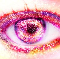 My pink eye. by xJNFR