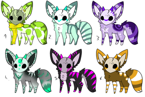 CLOSED  - Maskees Adoptables 189 by LeaAdoptables
