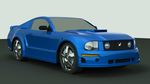 3ds max mustang by DrunkHedgehog
