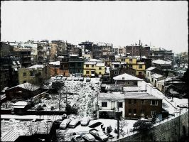 Snow in izmir by barobei