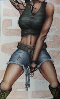 Revy...one hand? by Kingflabadingdong
