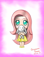 fluttershy chibi by giovanna-71