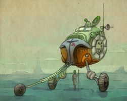 bender trike colour3 by LaughtonMcCry
