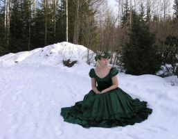 Green Gown 4 by Eirian-stock