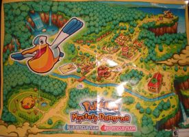 Pokemon Mystery Dungeon Map by PuccaFanGirl