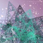 Crystal snow by Fractal-Kiss