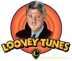 Looney Tunes Clinton Copy by jbeverlygreene