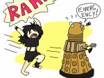 Feel my wrath, dalek by Artdirector123