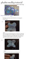 mudkip plushie body tutorial by ElizzaBeast