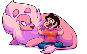 Steven and lion + VIDEO by Looji