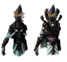 'Oracle' armour set concept by Choochoomedic