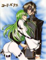 Lelouch and CC by chibiansem02