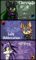 Team Andromeda by DeathcrowInk