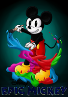 Mickey Mouse by OrionTHedgehog