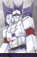 Megatron by ChrisOzFulton