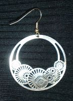 Earring 3 Stock by Waratahra-Stock