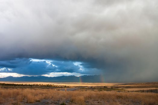 Storm over Spring Creek by buitseach