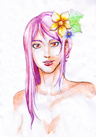 Another watercolor try by Gill-Goo