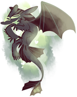 Toothless by Aibonito22