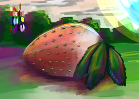 Forest Strawberry by laddster