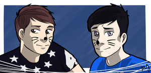 Dan and Phil by Mababwion1