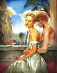 Cupid and Psyche by cafir
