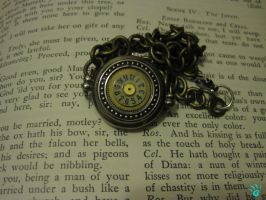 Steampunk Watch Necklace by PunkTrunk
