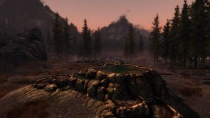 Dusk in Eastmarch RCRN 3.5 by lupusmagus