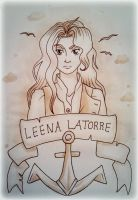 Title Page: Leena by starbuxx