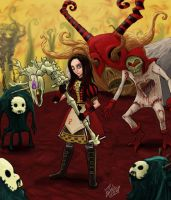 Alice Madness Returns by Edwardcrow