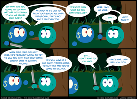 SC221 - Most Dangerous Game 21 by simpleCOMICS