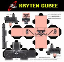 Kryten Cubee by mikedaws