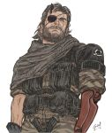 Big Boss sketch colors. by guilhermerw